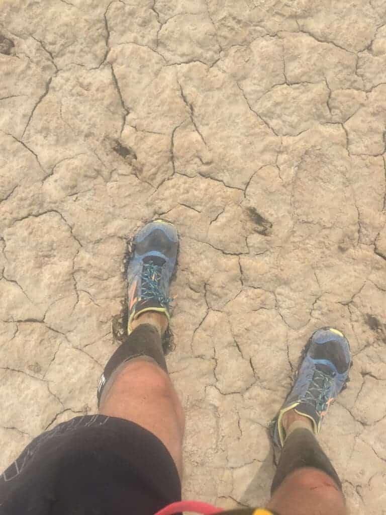 salt flats, running, 100km