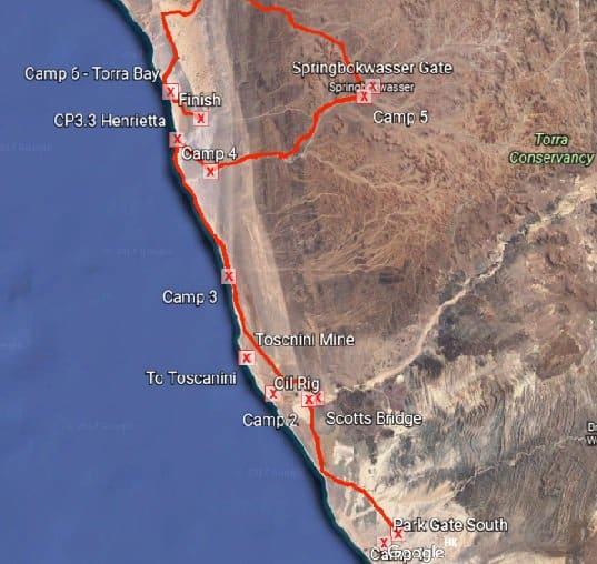 4 Deserts Sahara Race (Namibia) 2016 – Race Report 1