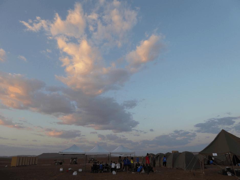 Big Skies at Camp