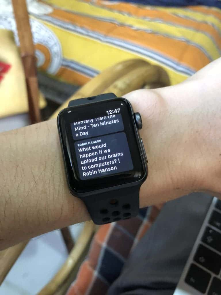 How To Listen To Podcasts On Your Apple Watch 4