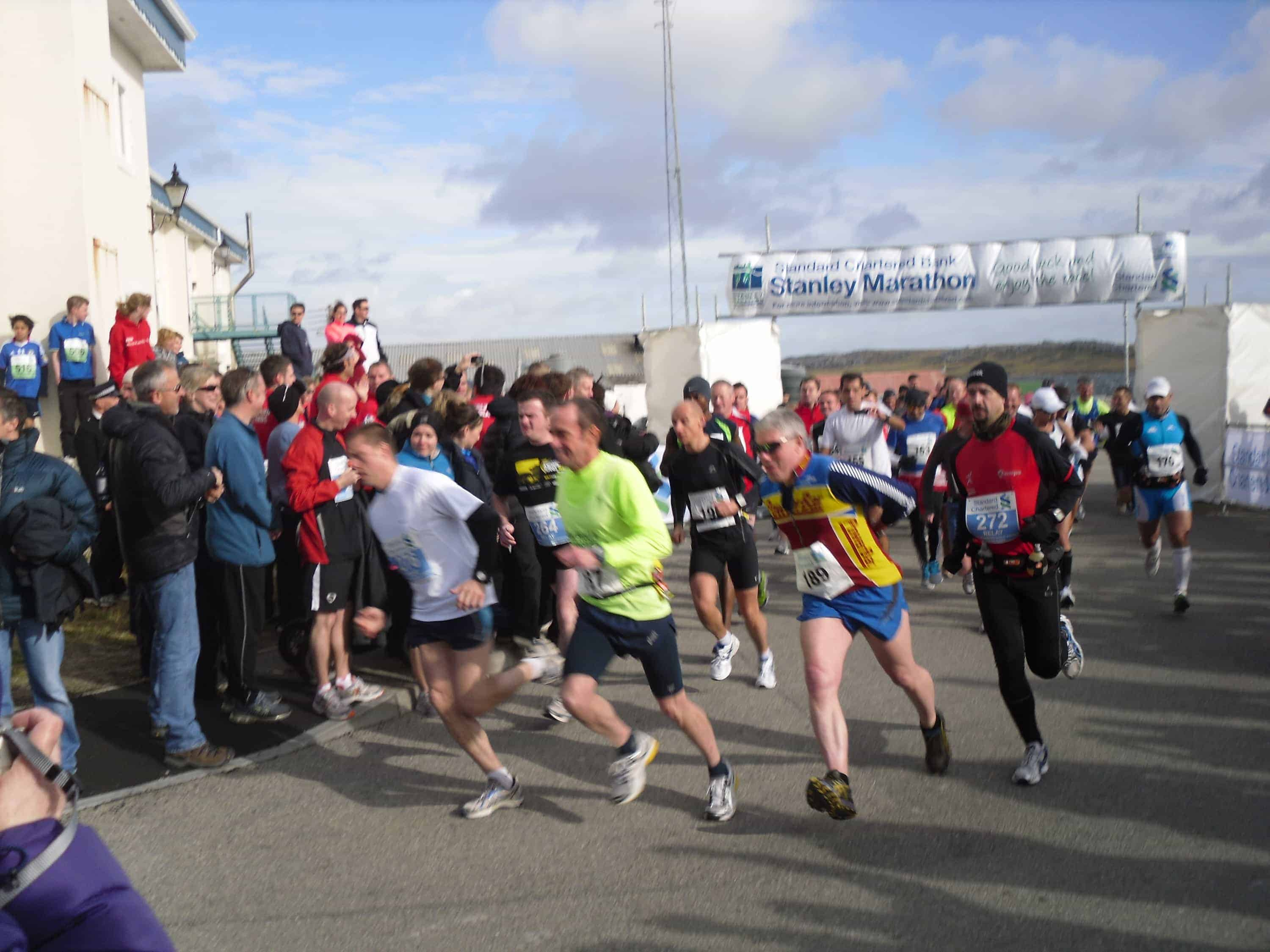 The Story of My First Marathon - Stanley, Falkland Islands 5