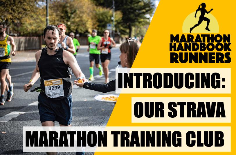 Join Our Marathon Training Strava Club!