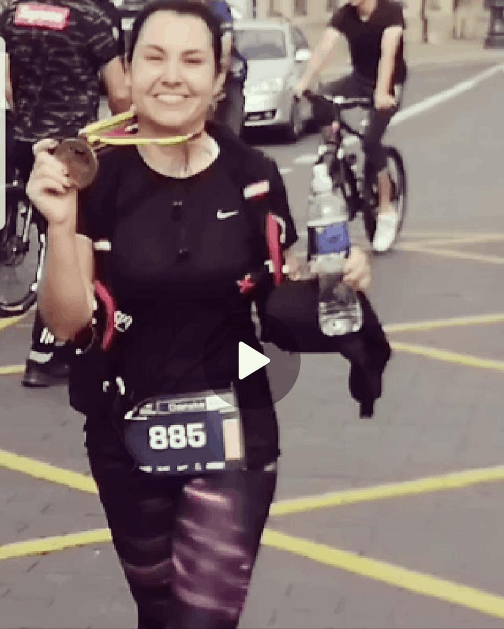 First marathon success!