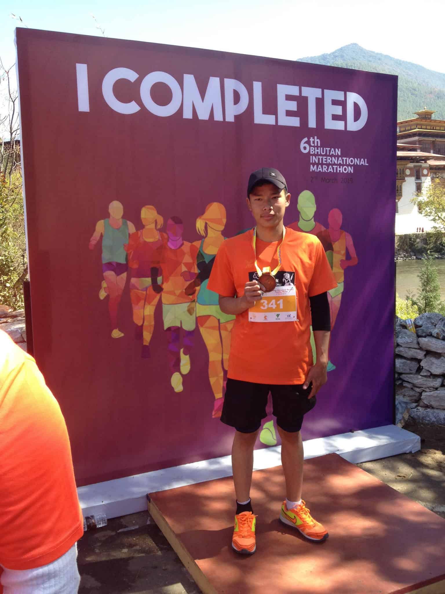 Bhutan Marathon Done!