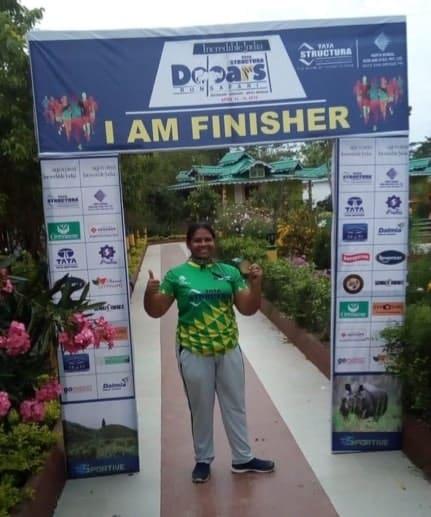 Can't believe I'm a marathon runner…!