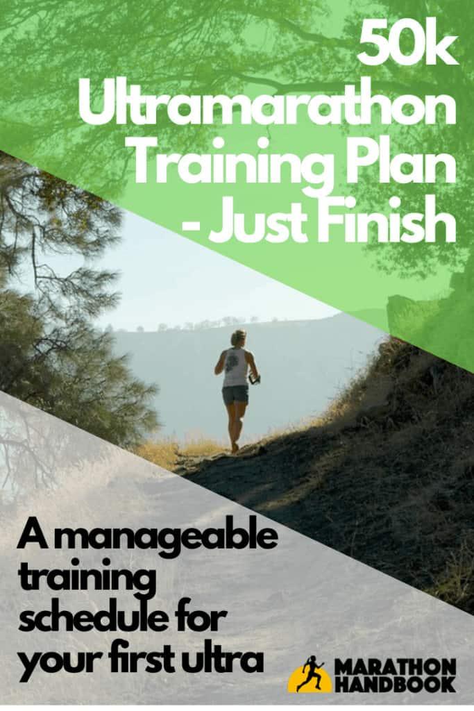50k ultramarathon training plan - just finish
