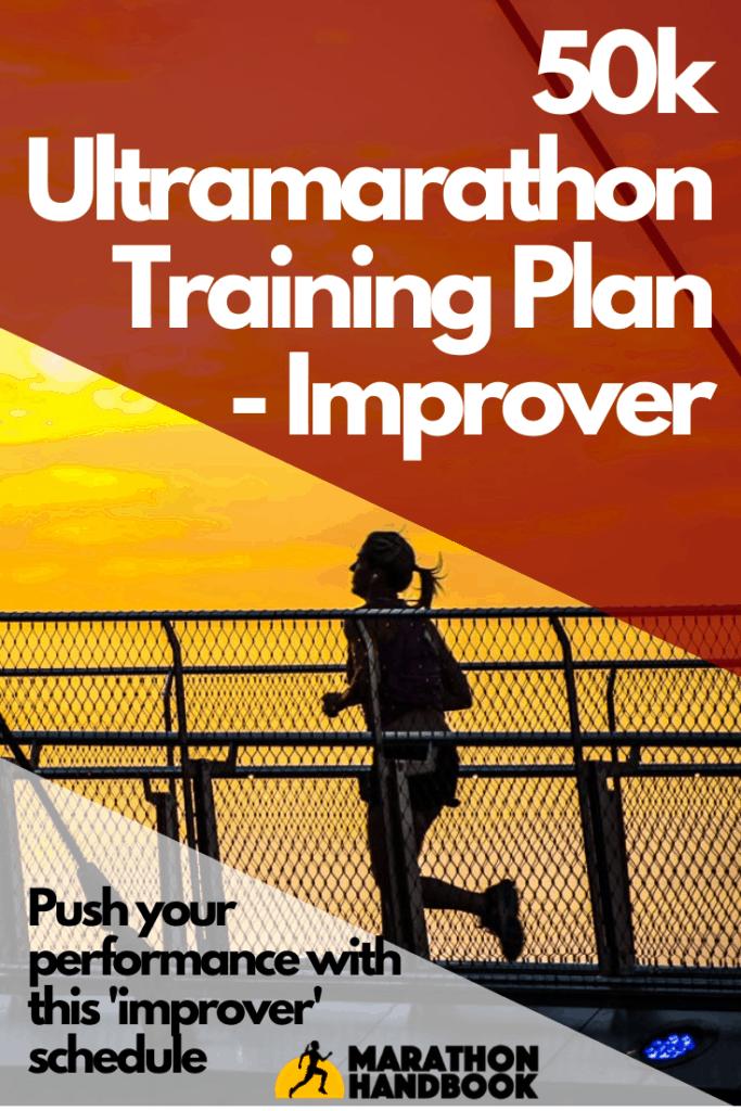 50k ultramarathon training plan - improver