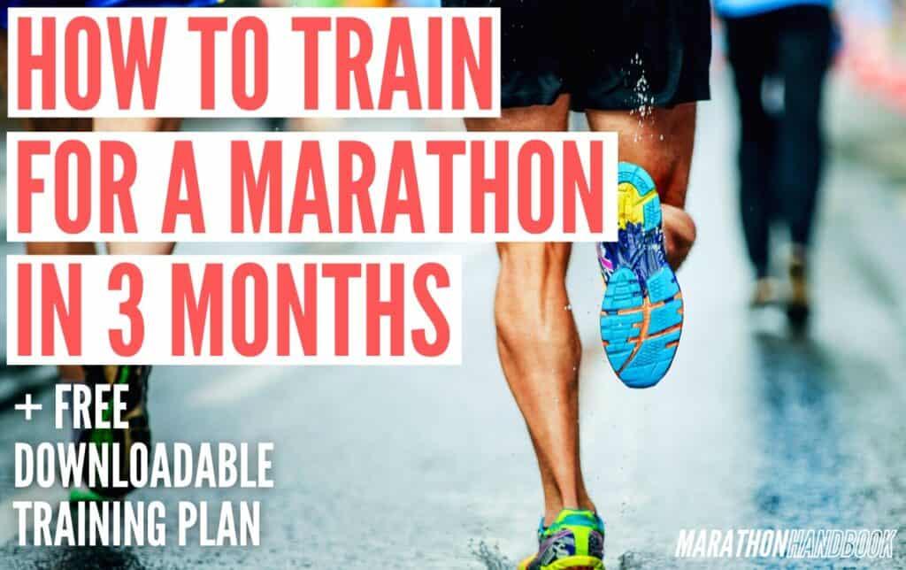 Marathon In 3 Months marathon training plan 1