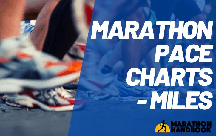 Marathon Pace Chart