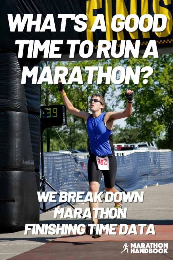 what's a good time to run a marathon?