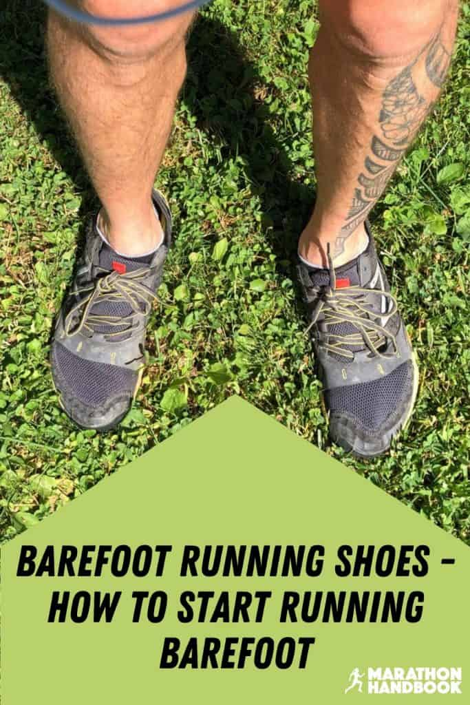 barefoot running shoes - how to start running barefoot