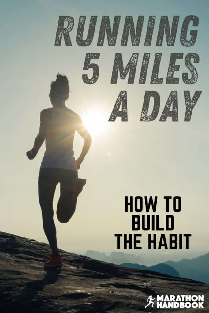 running 5 miles a day