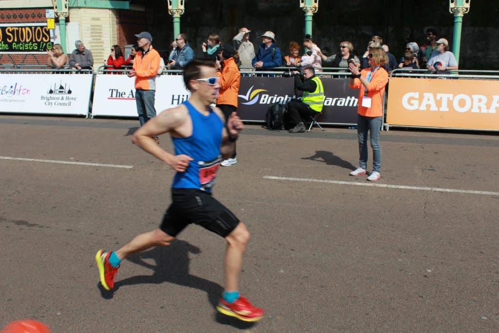 sub 3 hour marathon mark callaghan Brighton