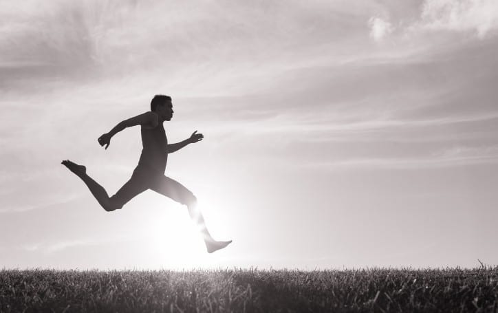 how to run without getting tired leap
