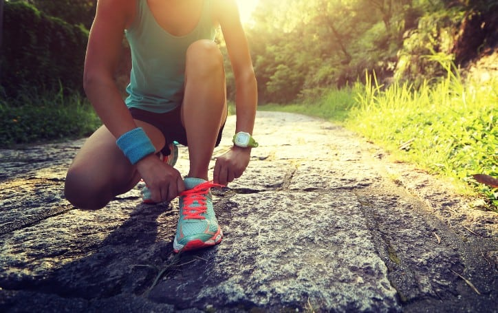 how to not get tired when running