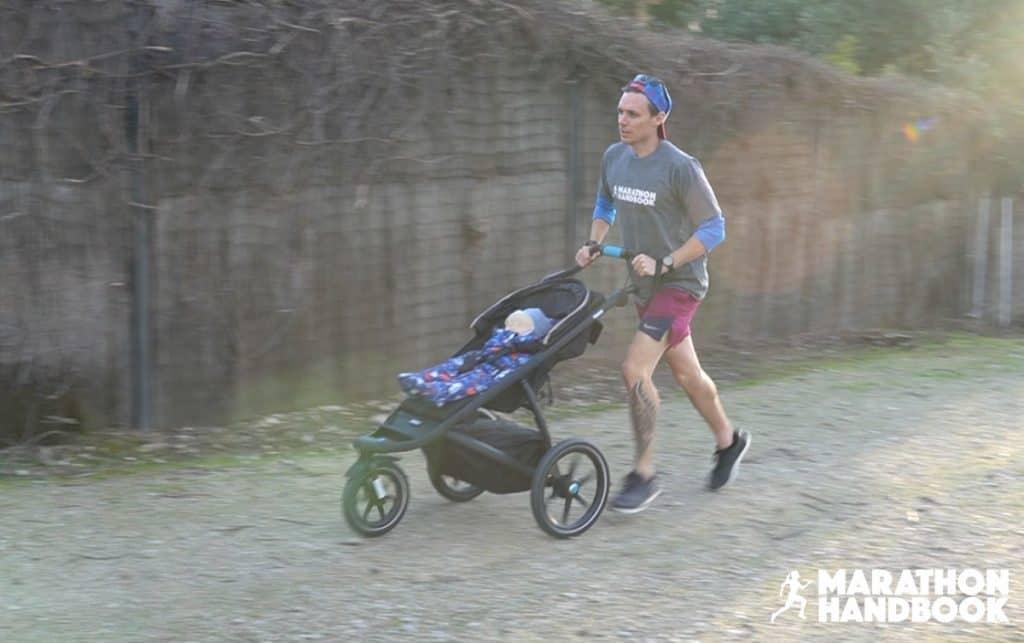 thule urban glide 2 running