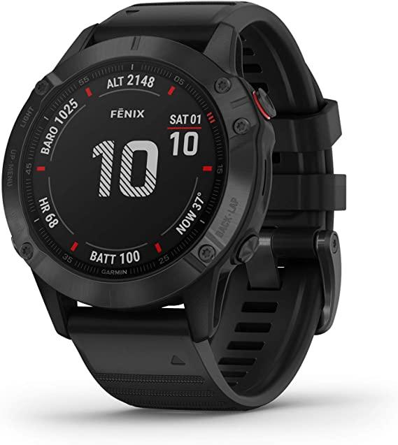 garmin fenix 6 pro  best ultra running watch