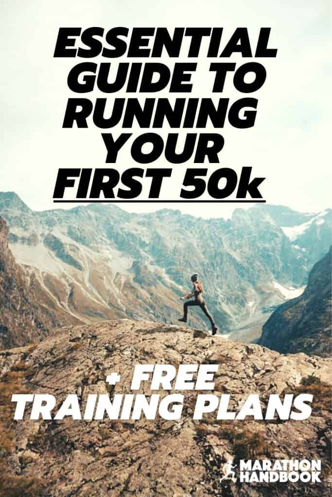 50k training plan training for a 50k