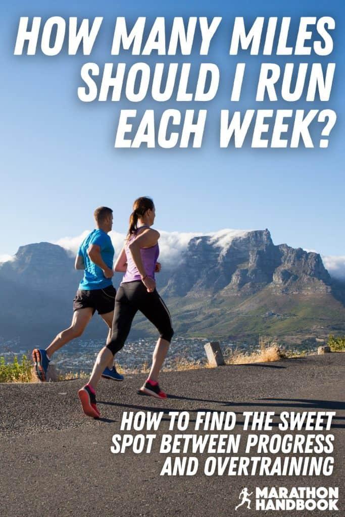 how many miles should I run each week?