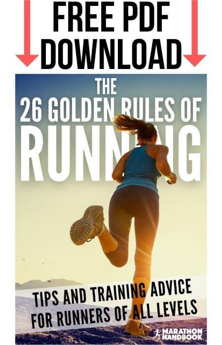 26 golden rules of running sidebar (1)