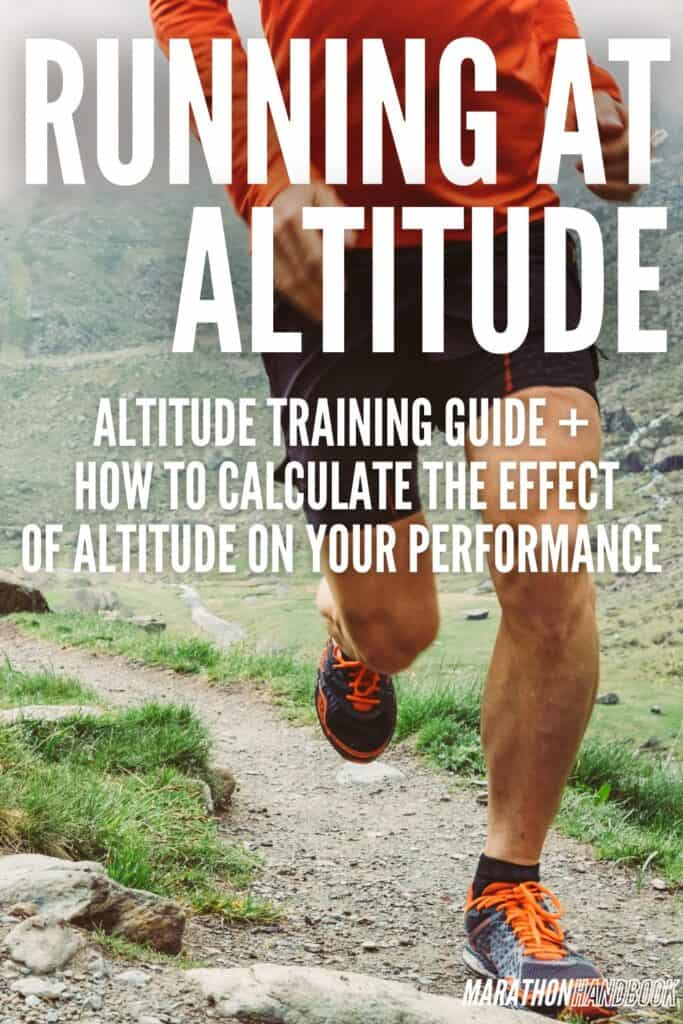 running at altitude training for runners