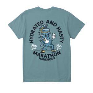marathon handbook hydrated shirt
