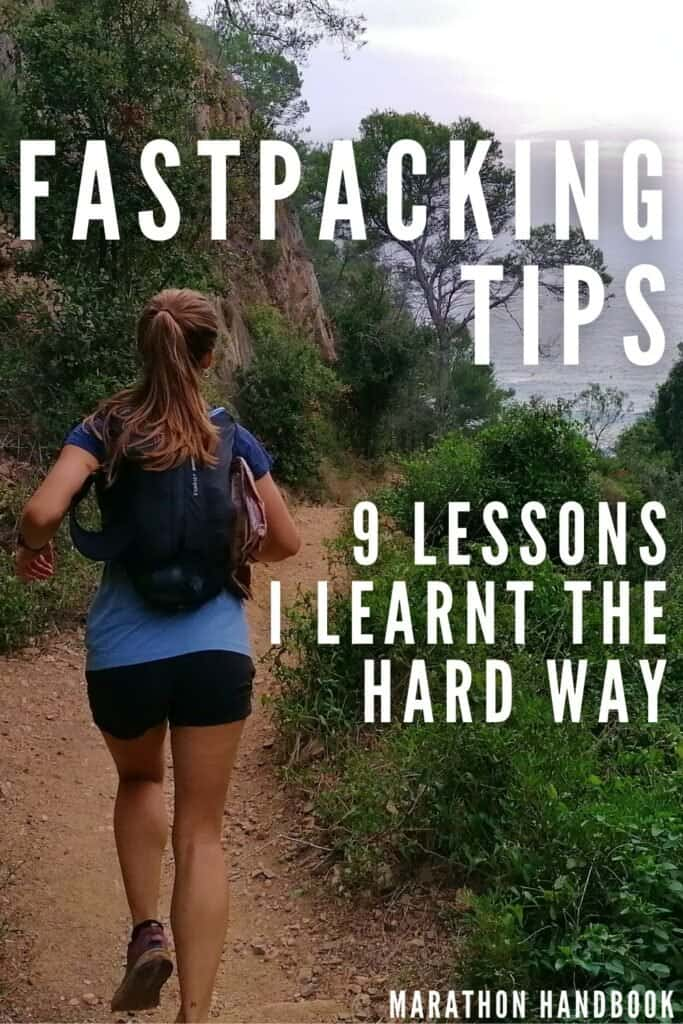 fastpacking tips